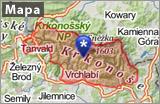 Krkonoše mapa banner