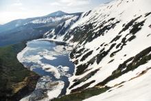 Wielki Staw, jedno z ledovcových jezer na polské straně Krkonoš, foto: Archiv Vydavatelství MCU s.r.o.