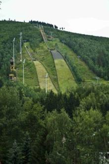Harrachov, Skispringgelände auf dem Teufelsberg, Foto: Archiv Vydavatelství MCU s.r.o.