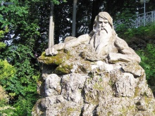 Socha Krakonoše v Janských Lázních, foto: Archiv Vydavatelství MCU s.r.o.